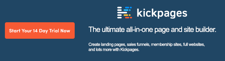 Kickpages Promotion