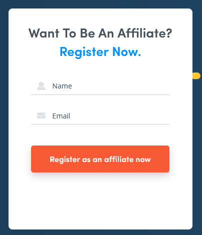 Kickpages affiliate program