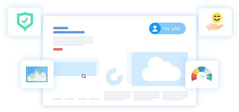Kickpages features - Cloud